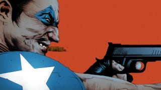 Illustration for article titled Jae Lee draws Ozymandias versus the Comedian, in this Before Watchmen preview