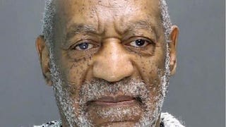 In this handout image provided by the Montgomery County, Pa., District Attorney's Office, Bill Cosby poses for a mug shot during his arraignment Dec. 30, 2015, in Elkins Park, Pa.Montgomery County, Pa., District Attorney's Office via Getty Images
