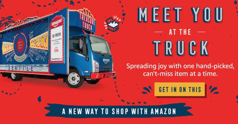 $10 Off Next Treasure Truck Purchase | Amazon | Purchase must be made before July 31
