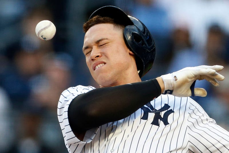 Illustration for article titled Even For Aaron Judge, Eight Strikeouts Is A Lot!