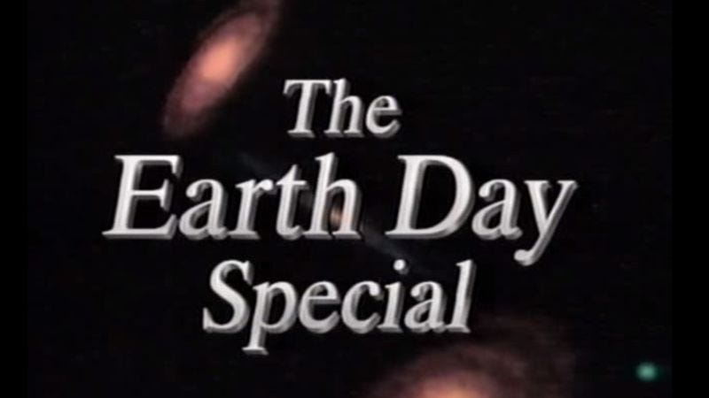 Illustration for article titled Celebrate Earth Day by watching this insane all-star TV special from 1990