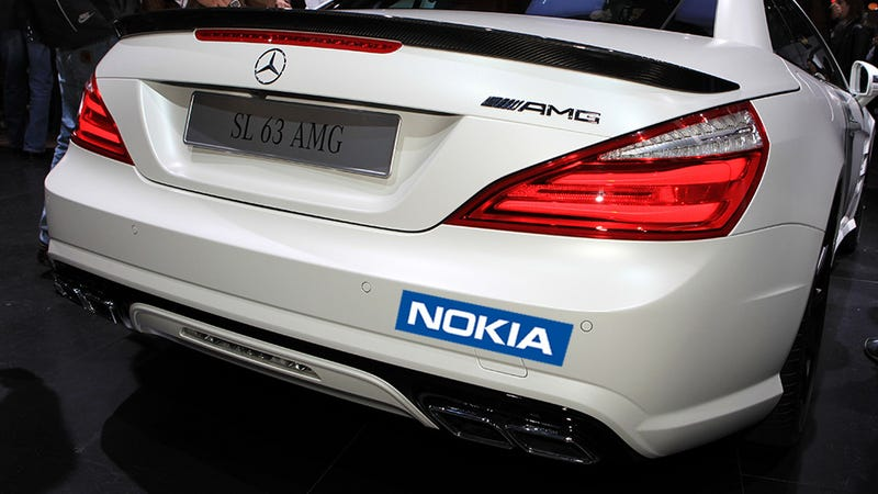 Illustration for article titled Now Nokia and Mercedes Are Trying to Build a Self-Driving Car
