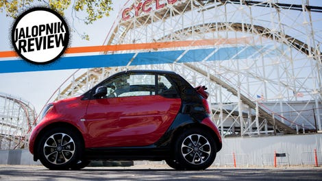 The Fully Autonomous Electric Smart Fortwo Concept Car Has