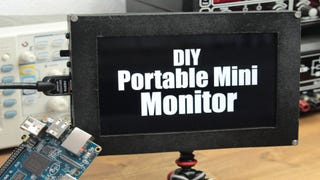 Build Your Own Battery-Powered Portable Mini Monitor