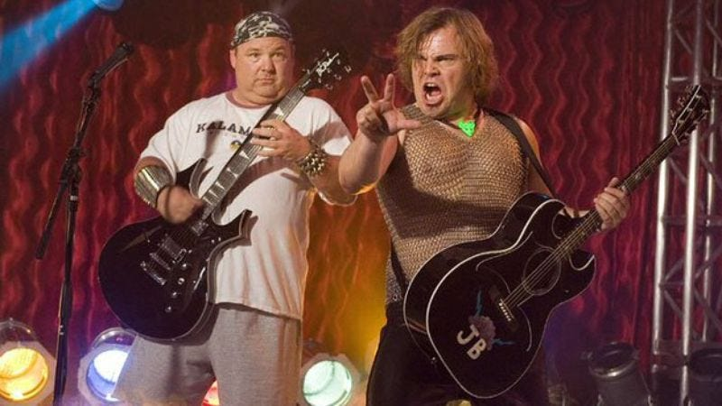 "Illustration for article titled Tenacious D wants to create its own ""Super Bowl of comedy-rock"" festival"