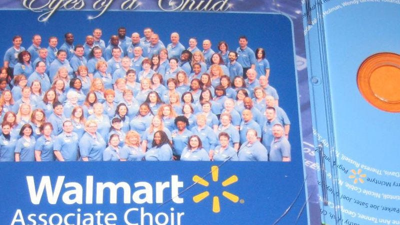 Walmart Associate Choir Croons Its Way To Predictably Ironic