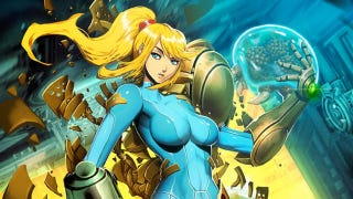 Illustration for article titled Metroid's Zero Suit Samus Given the 'Genzoman' Treatment
