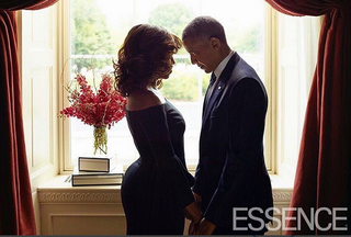 Michelle and Barack Obama Essence Magazine