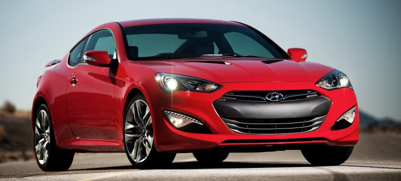 Illustration for article titled Hyundai Reportedly Kills The Turbo Four In The 2015 Genesis Coupe