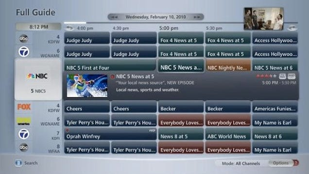 verizon fios tv is finally getting a prettier widescreen guide home subwoofer wiring guide #12