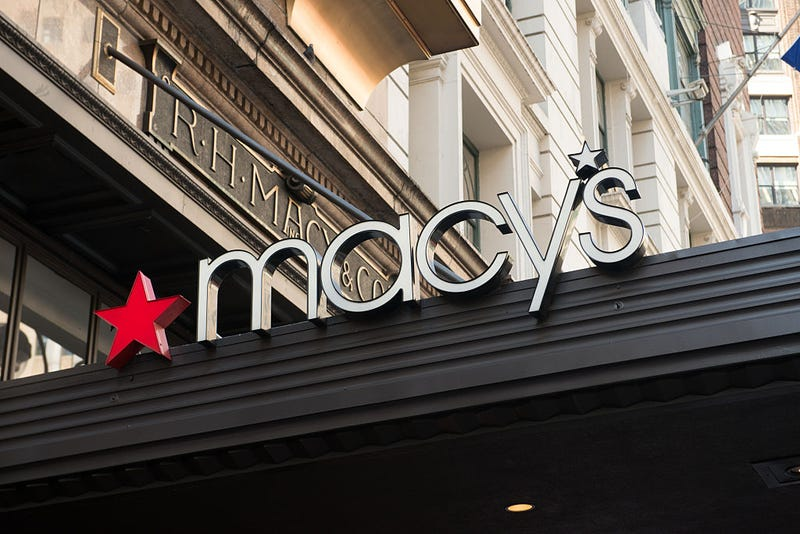 Sign at Macy's Herald Square in New York City in 2015Noam Galai/WireImage