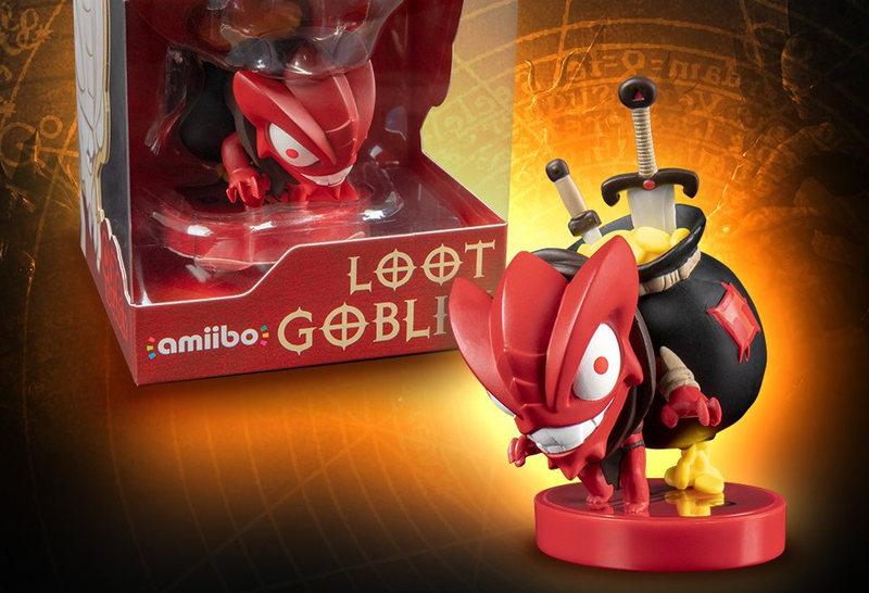 Illustration for article titled Gritty Has A Child And It's This Diablo III Amiibo