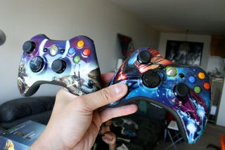 Illustration for article titled Todd McFarlane's Halo 3 Controllers Could Be Better
