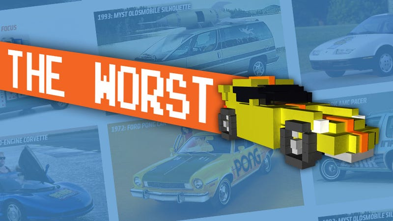 Illustration for article titled The Six Least Popular Video Game-Themed Cars From Past Comic-Cons
