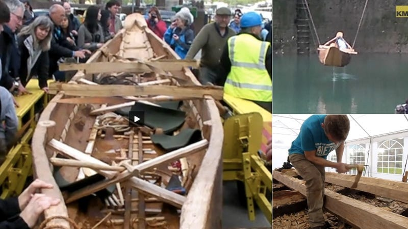 Illustration for article titled Modern Man Tries to Build a 3,500 Year Old Boat from the Bronze Age and Fails