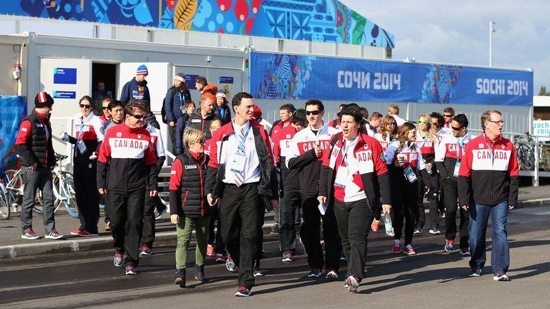 Illustration for article titled Athletes Arrive In Sochi For 2-Week Living Nightmare