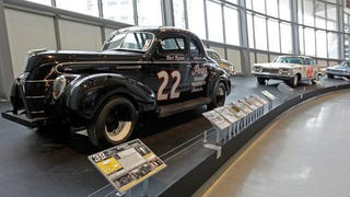 Illustration for article titled NASCAR Hall Of Fame Opens, Displays Weird, Stock-Looking Cars