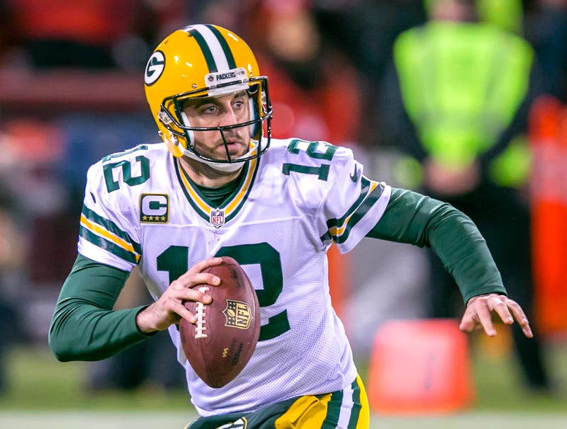 Illustration for article titled Breaking: Packers Fear Aaron Rodgers Fractured Shoulder Chip