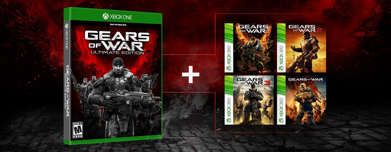 Illustration for article titled All the Gears of War Games Will Be Backwards Compatible on Xbox One