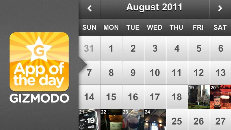 Illustration for article titled Photo 365 for iPhone: Take a Picture Every Day of the Year
