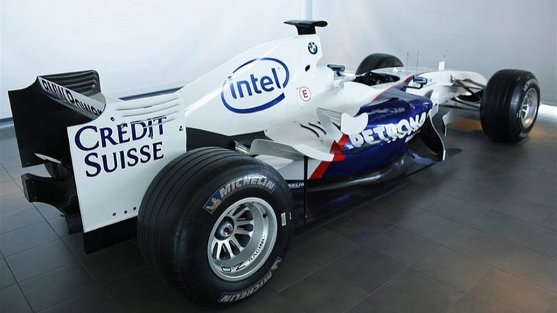 Illustration for article titled A Real Formula One Car Is For Sale On Sweden's Craigslist