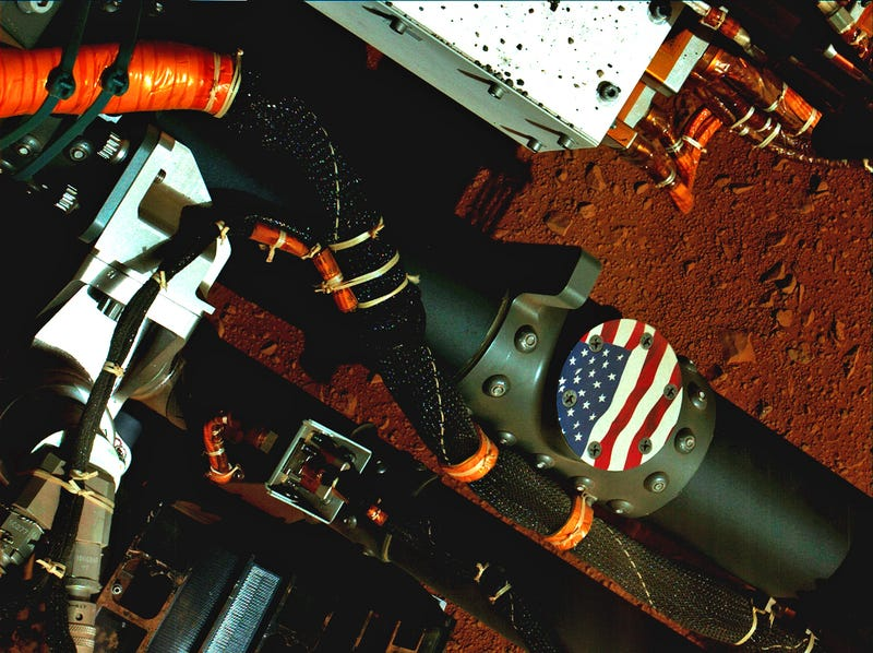 Illustration for article titled Happy 4th of July from Mars
