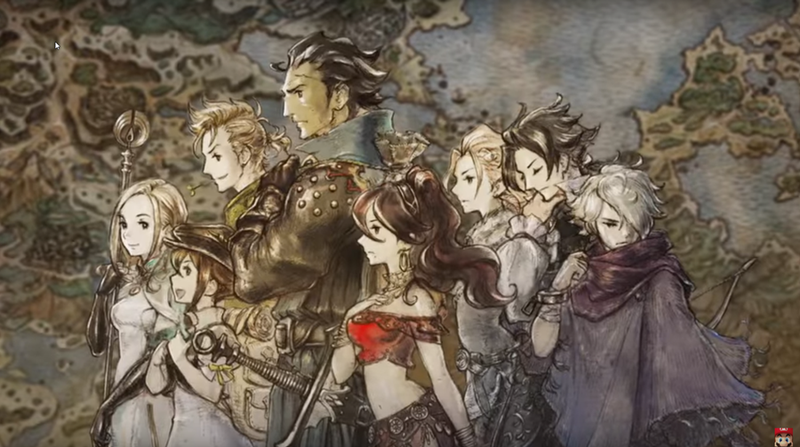 Illustration for article titled Octopath While Traveling