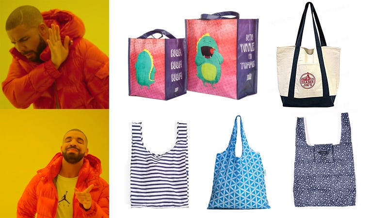 Photos By Director X Whole Foods Trader Joe S Baggu Holyluck Timomos Reusable Grocery Bags