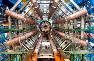 Illustration for article titled Why you (probably) shouldn't stick your hand in the Large Hadron Collider