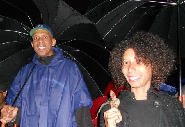 Kareem Abdul-Jabbar and Habiba Alcindor (courtesy of Habiba Alcindor)