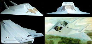 Illustration for article titled Meet Northrop's XST, The Plane That Lost Out To The Original Stealth Jet