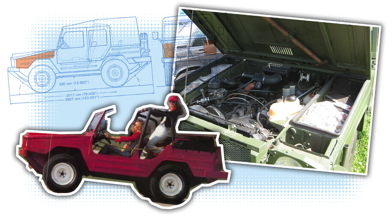 Illustration for article titled Your Inspirational Trunk of the Day: Volkswagen Iltis