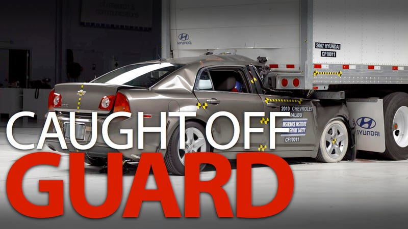 Illustration for article titled Truck guards fail to stop fatal wrecks