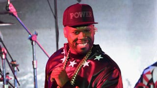 "Curtis ""50 Cent"" Jackson performs during the Power season 2 premiere event on June 2, 2015, in New York City. Jamie McCarthy"