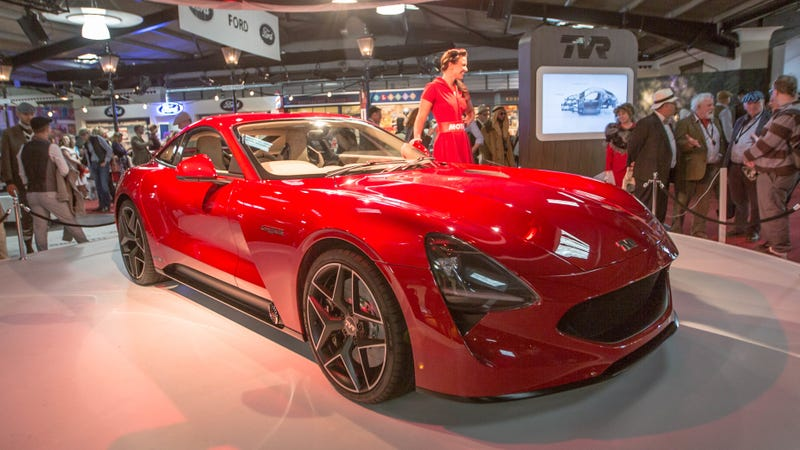 Illustration for article titled The New TVR Griffith Is Delayed Yet Again: Report