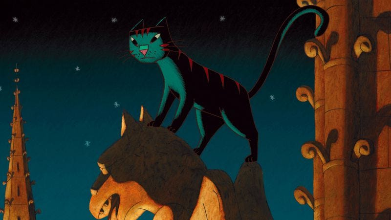 Illustration for article titled A Cat In Paris
