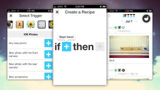 Illustration for article titled IFTTT Brings Its Custom App Automation to the iPhone