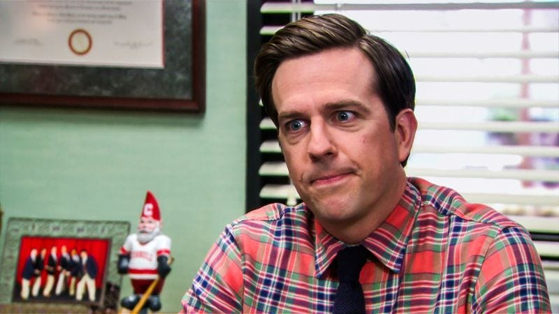 Ed Helms on The Office