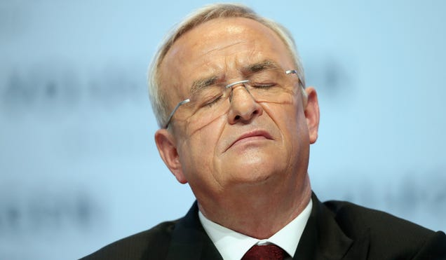 Germans Investigating Whether Ex-VW CEO Hid Diesel Cheat From The Public