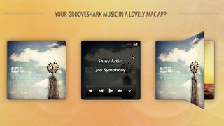 Illustration for article titled Shiny Groove is a Tiny, Good-Looking Grooveshark Player for Mac