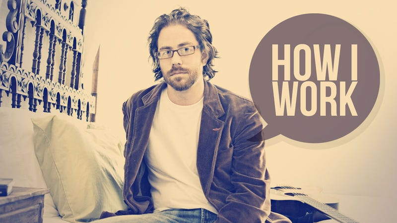 Illustration for article titled I'm Jonathan Coulton, and This Is How I Work