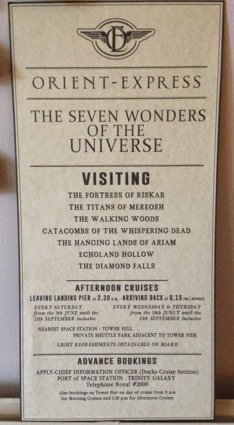 Illustration for article titled The Seven Wonders Of The Universe that were cut from Doctor Who