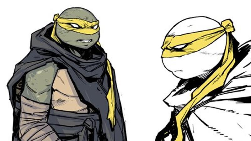 Say hi to a new member of the Teenage Mutant Ninja Turtles.