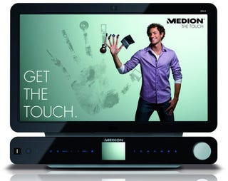 Illustration for article titled Medion X9613: A Multitouch PC that Longs to Be Your Home Theater
