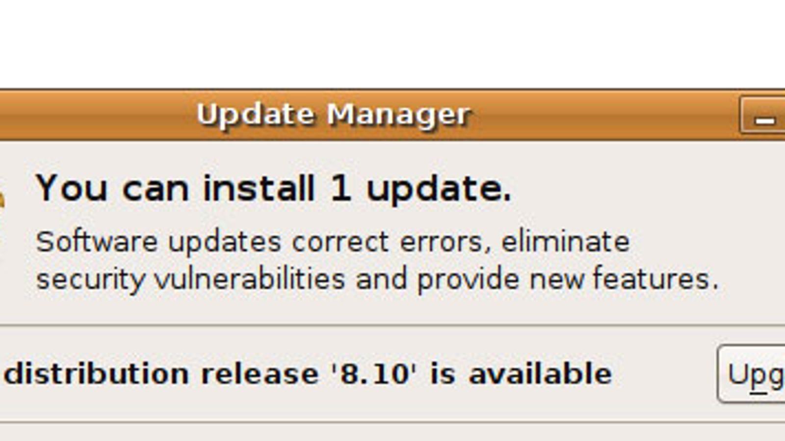 A User's Look at Ubuntu 8 10 Intrepid Ibex