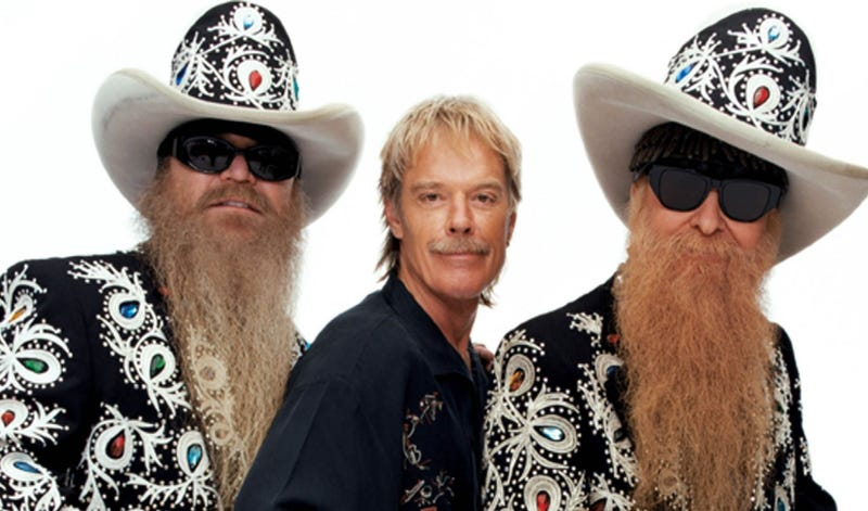 Illustration for article titled RARE PICTURE OF ZZ TOP WITHOUT BEARD