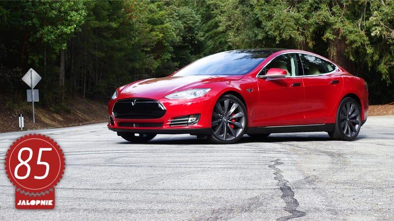 Illustration for article titled Tesla Model S P85D: The Jalopnik Review