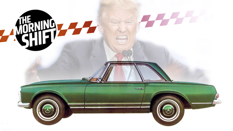 Illustration for article titled Trump Threatens To Push German Carmakers From The U.S. Market: Report