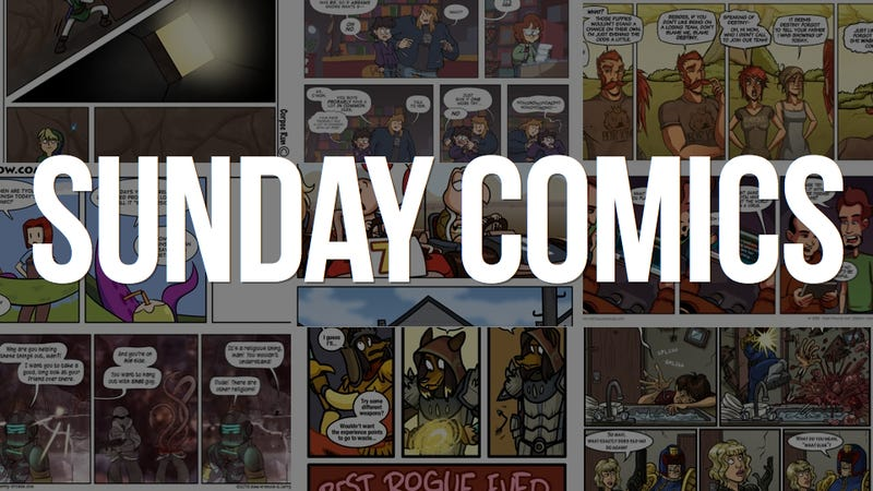 Illustration for article titled Sunday Comics: Closed Beta