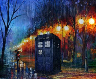 Illustration for article titled TARDIS phone wallpapers
